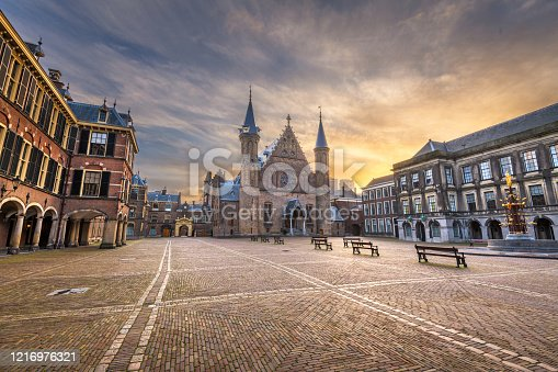 istock The Hague, Netherlands at the Ridderzaal 1216976321