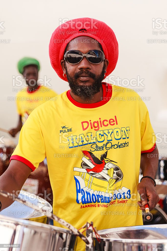 The Halcyon Steel Orchestra stock photo