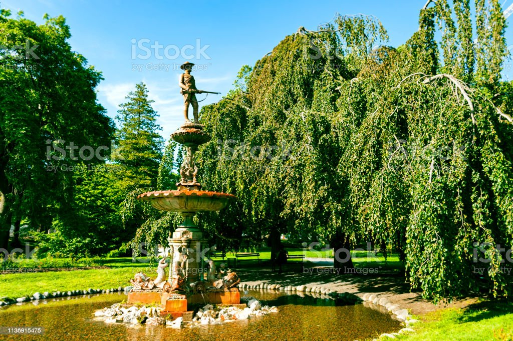 The Halifax Public Gardens Stock Photo   Download Image Now ...