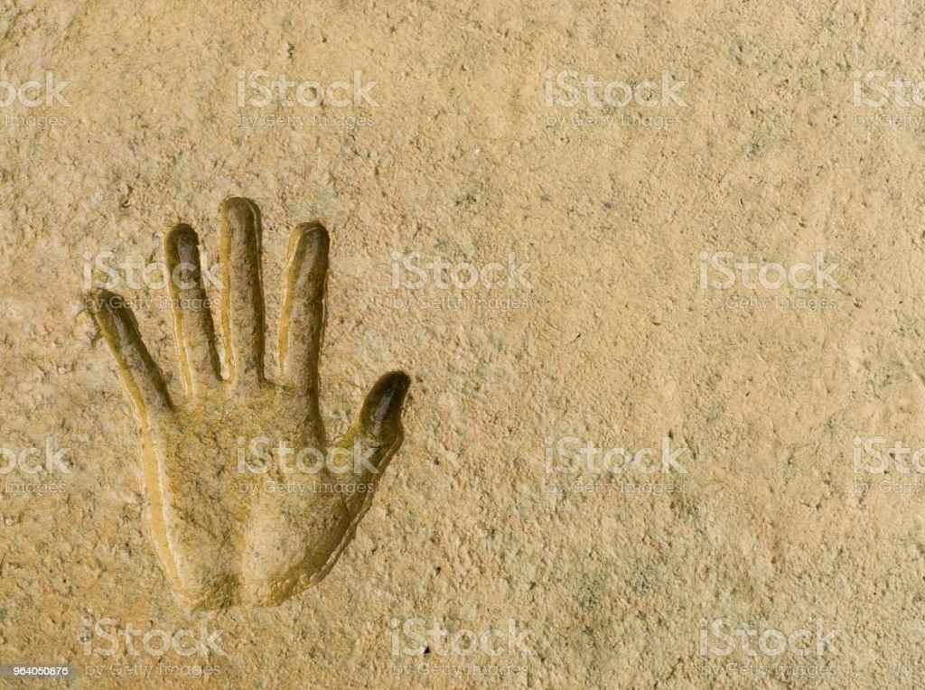 The hand prin - Royalty-free Abstract Stock Photo