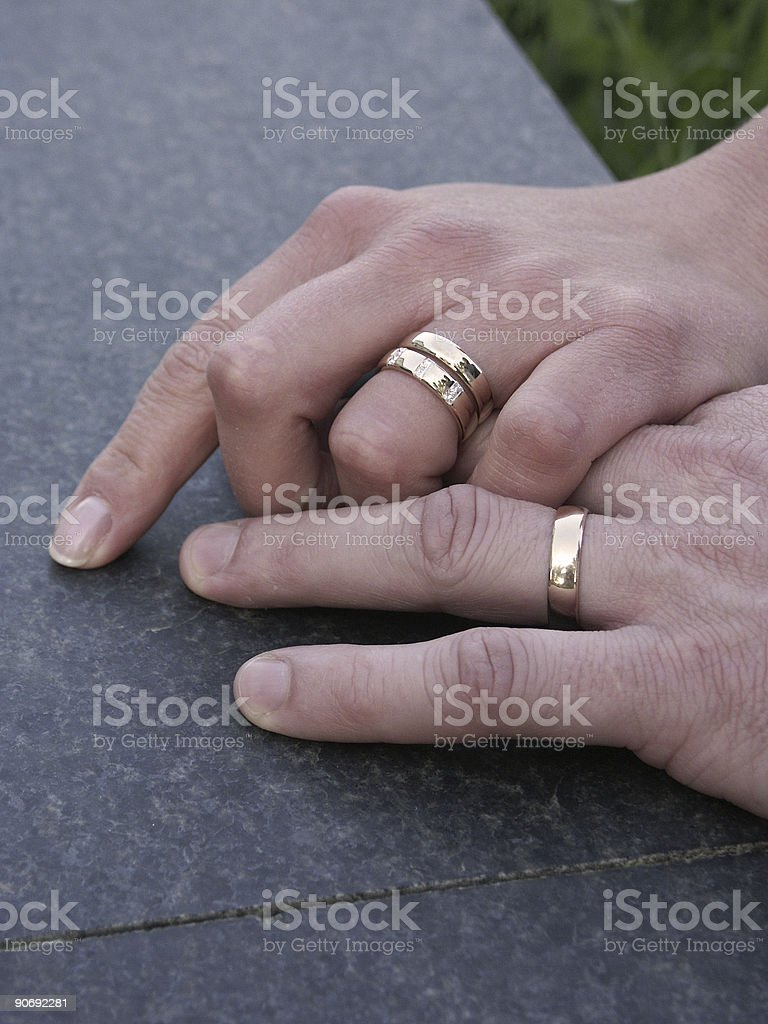 The Hands of love stock photo