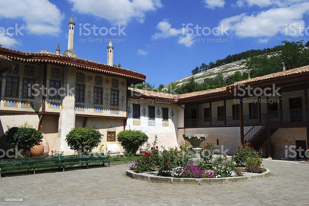 The Hansaray. Living quarters. stock photo