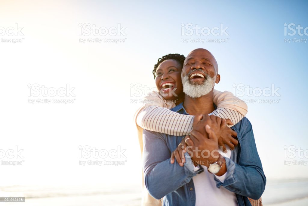 The happiest days are here stock photo