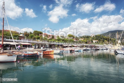 istock The harbor of the French peninsula of Saint-Jean-Cap-Ferrat on the Cote d'Azur 1072528182