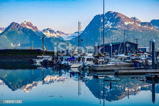 "Valdez, known as Alaska's ""little Switzerland""."