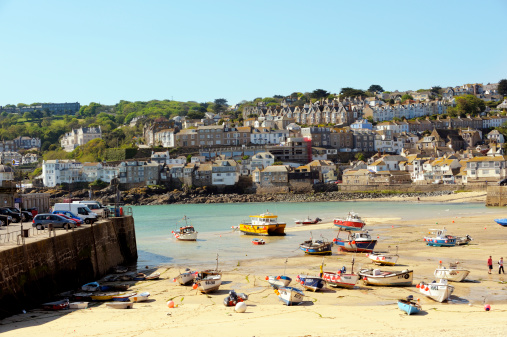 The Harbour of St. Ives, Cornwall