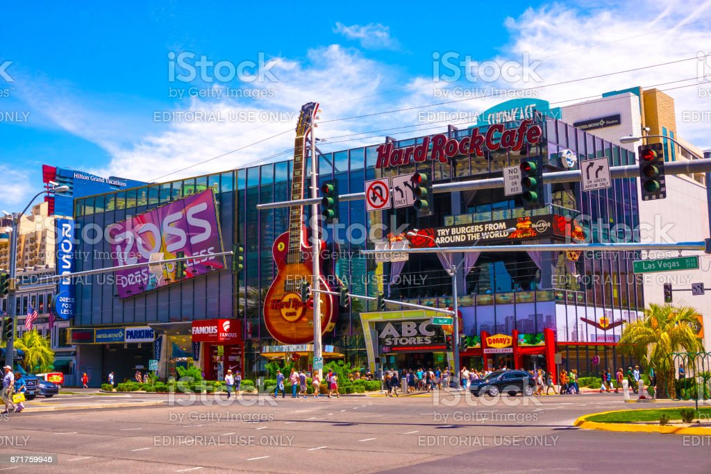 Las Vegas United States Of America May 05 2016 The Hard Rock