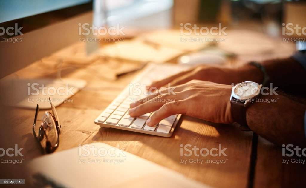 The hardest working hands royalty-free stock photo
