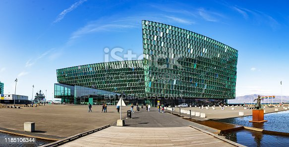 istock The Harpa concert and conference center hall, located in the center of Reykjavik, Iceland. 1185106344