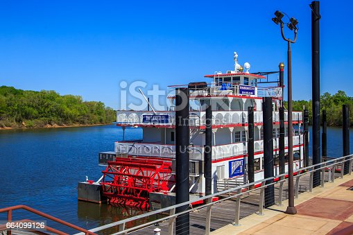 istock The Harriott II Docked on the Alabama River 664099126