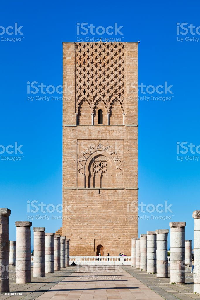 The Hassan Tower in Rabat - Royalty-free Ancient Stock Photo