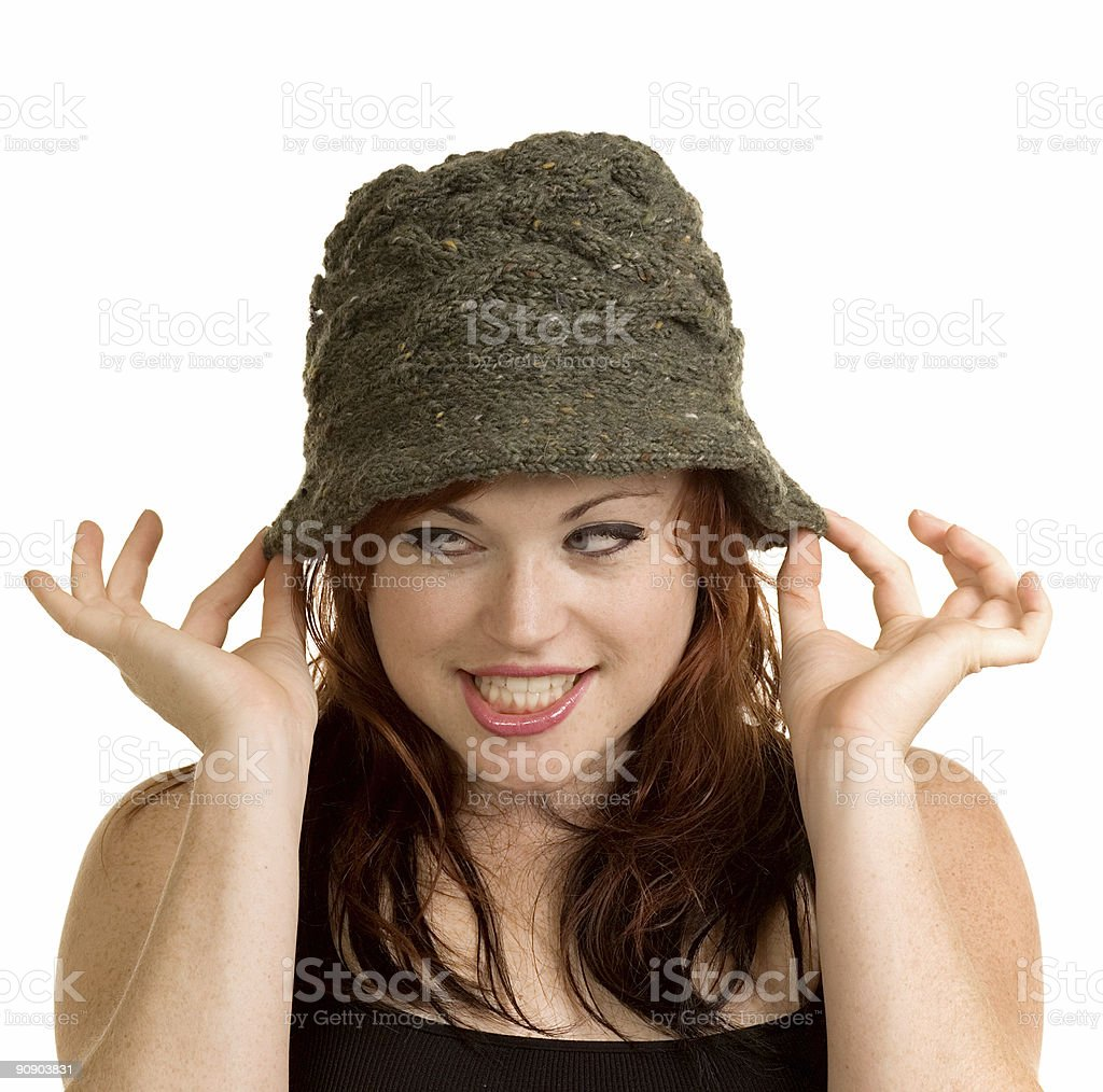 The Hat royalty-free stock photo