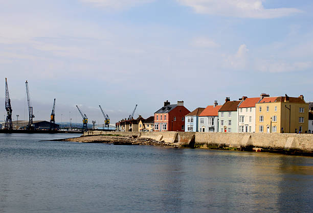 The Headland at Old Hartlepool The Headland at Old Hartlepool headland stock pictures, royalty-free photos & images