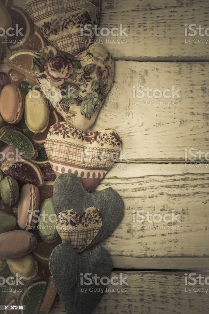 the heart of the tissue substrate stock photo