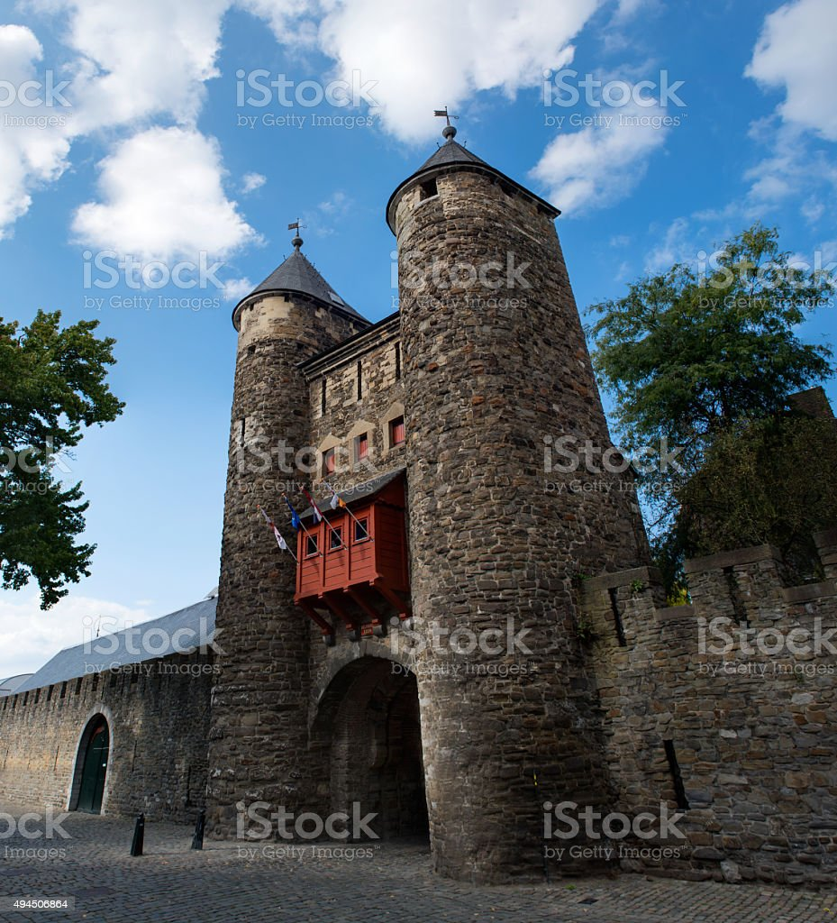 The Helpoort (Hell's Gate) of Maastricht stock photo