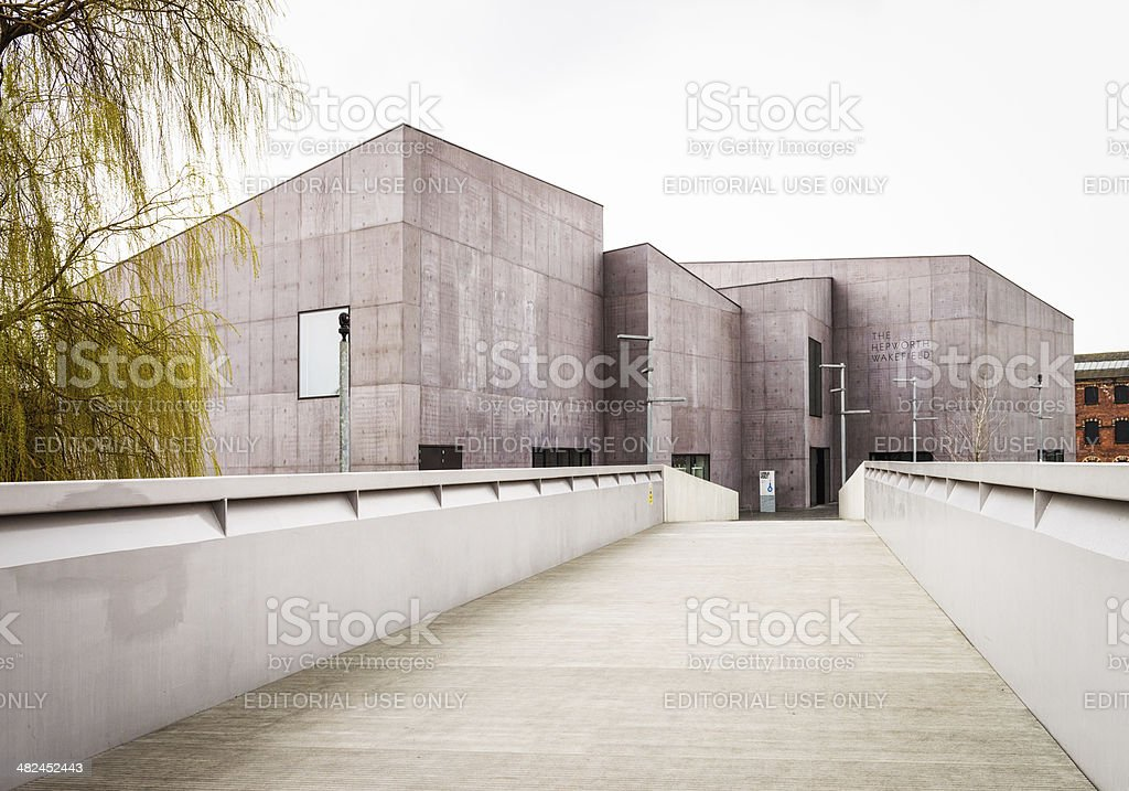 The Hepworth Wakefield in Yorkshire stock photo