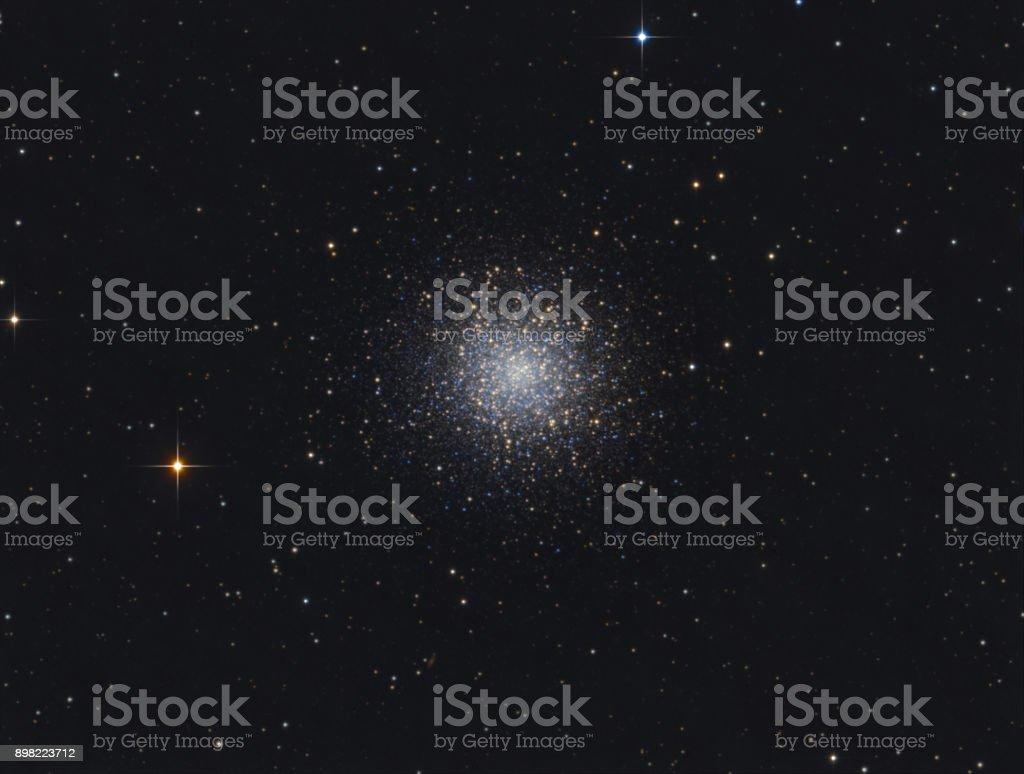 The Hercules Globular Cluster (Messier 13) stock photo