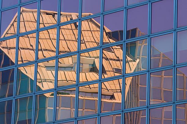 The hexagonal building stock photo