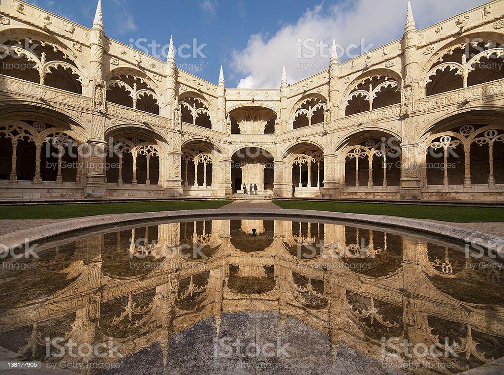 The Hieronymites Monastery (Mosteiro dos Jeronimos) stock photo