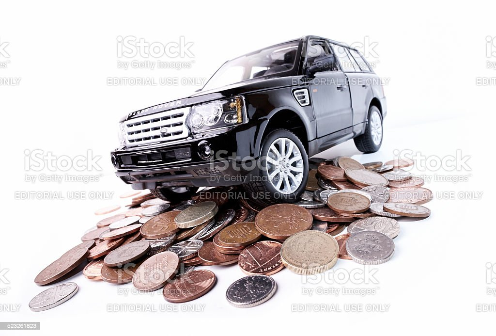 The High Cost Of Motoring stock photo