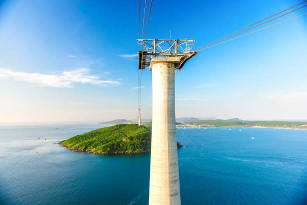 die höchste Seilbahn in Fukuok, vietnam – Foto