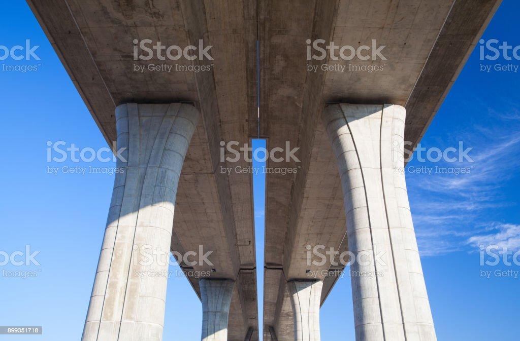 The higway bridge stock photo