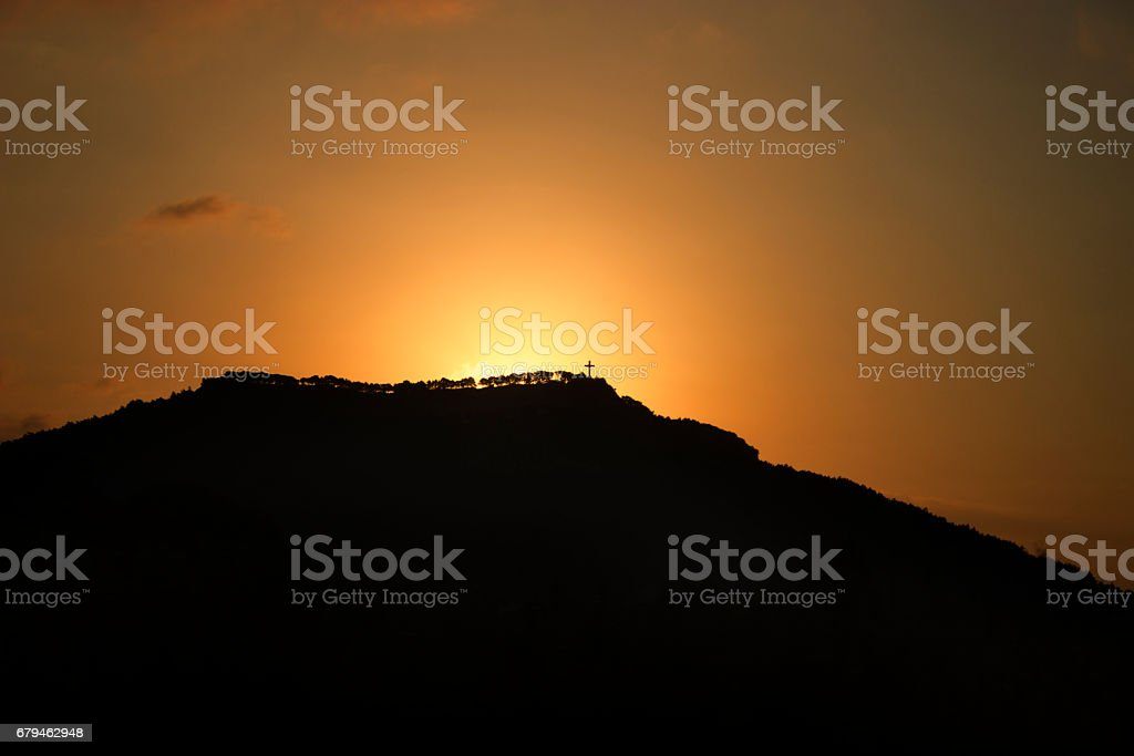 The Hill royalty-free stock photo
