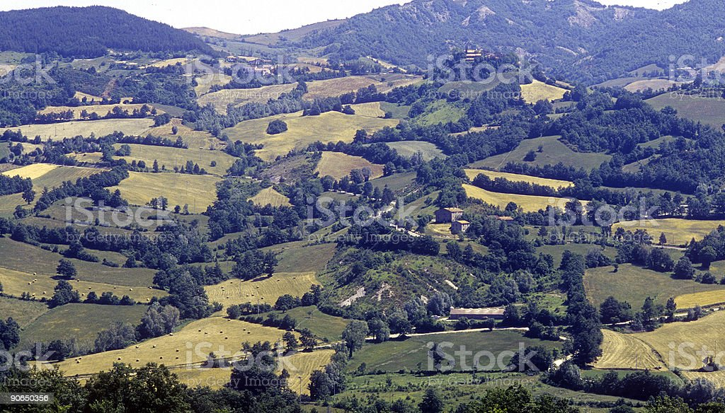 The Hills of Tuscany royalty-free stock photo