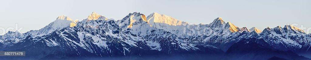 The Himalayas stock photo