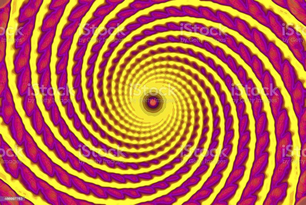The hipnosis circle stock photo