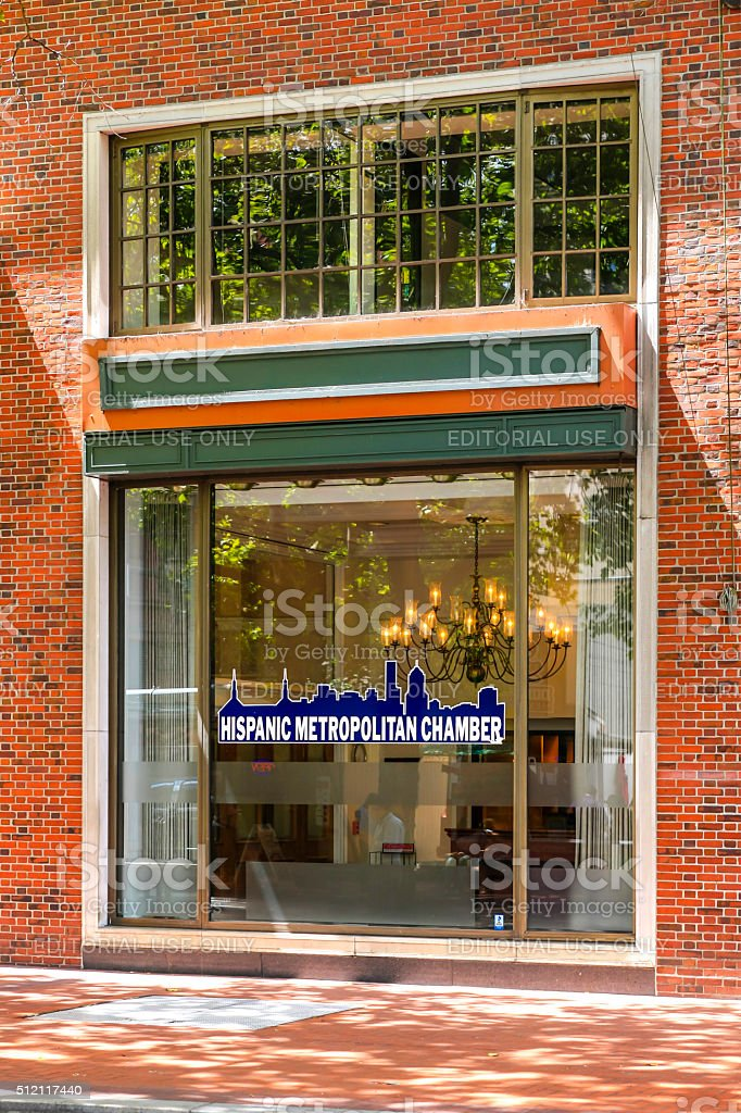 The Hispanic Metropolitan Chamber of Commerce office in downtown...