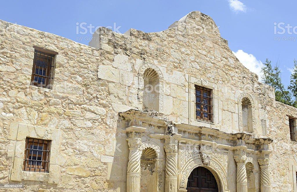 The historic Alamo, San Antonio Texas, USA stock photo