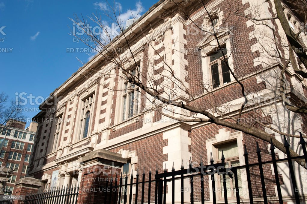 The Historic Building Of Mutter Museum In Philadelphia Stock Photo ...