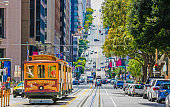 istock The historic cable car on San francisco city 480373634