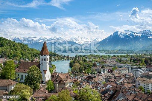 istock The historic city of Thun, in Bern Switzerland 531264442