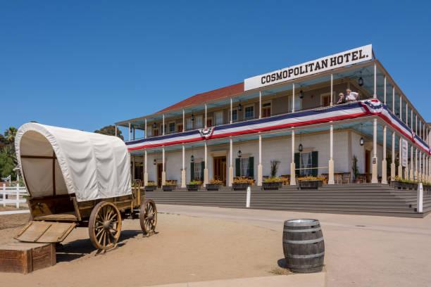 Das historische Hotel Cosmopolitan in der historischen Stadt San Diego, Kalifornien, USA – Foto