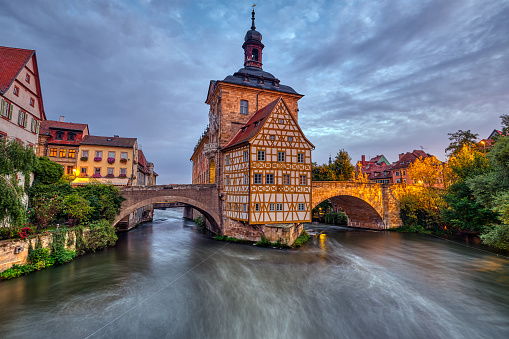 The historic Old Town Hall of Bamberg