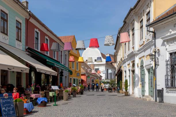 The Historical Szentenedre - Hungary stock photo