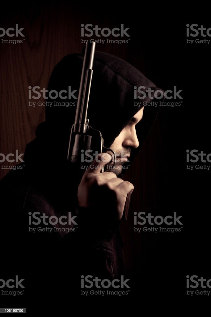 the hitman stock photo