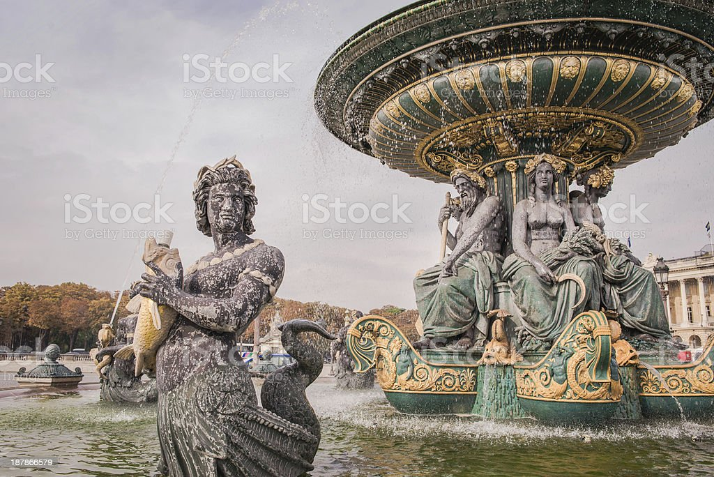 The Hittorf Fountain stock photo