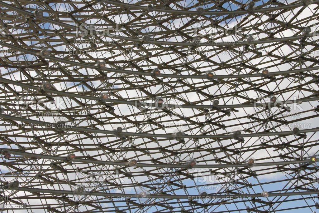 The Hive at Kew Gardens stock photo