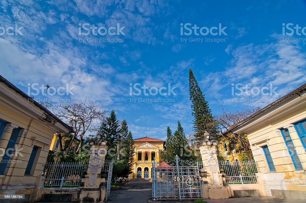 The Ho Chi Minh City Supreme People's Court, Vietnam stock photo
