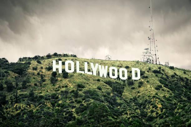 den hollywood-skylten - hollywood sign bildbanksfoton och bilder