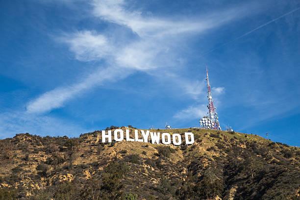 the hollywood sign - hollywood sign bildbanksfoton och bilder