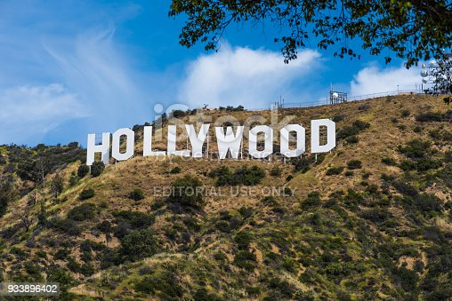 Photo taken from the Hollywood hills, Los Angeles California on April 17, 2017