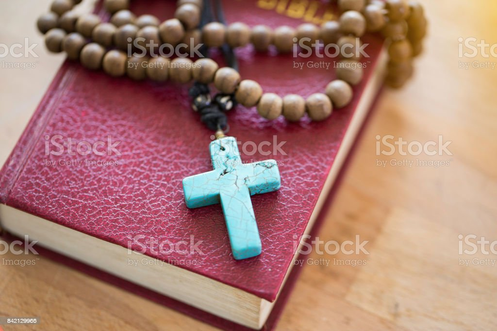 the Holy Bible. stock photo
