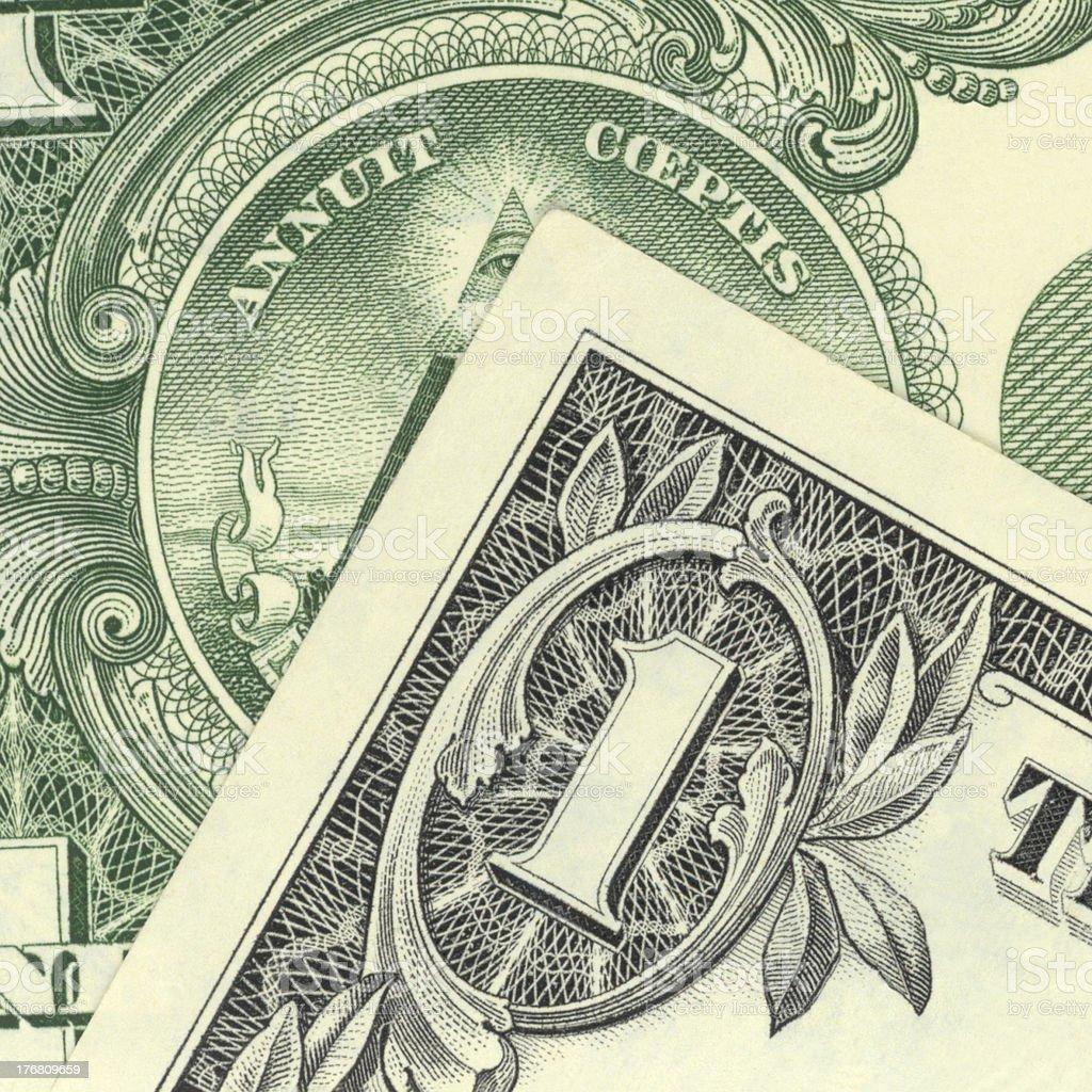 The Holy Dollar royalty-free stock photo