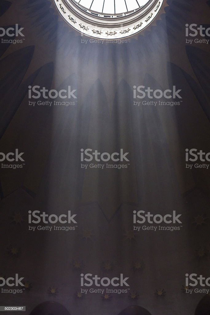 The Holy Sepulchre Church in Jerusalem royalty-free stock photo