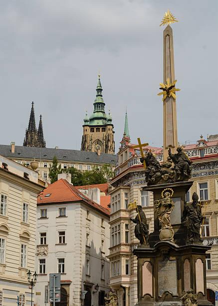 A Coluna da Santíssima Trindade, em Praga - foto de acervo
