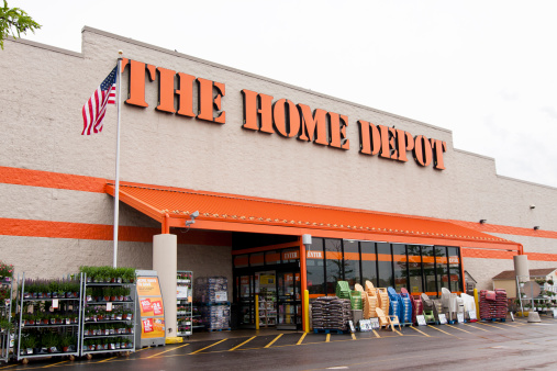 The Home Depot Store Stock Photo - Download Image Now